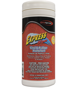 Express Wipes Vinyl Rubber Protectant