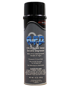 A.F.D. Citrus-Based Water Soluble Degreaser